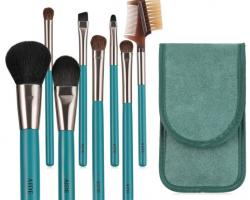 美化妆刷套装全套刷子眼影美妆工具用品初学者粉刷套刷粉底散粉腮红 绿色